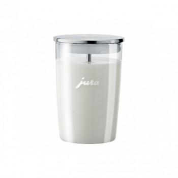 Szklany pojemnik na mleko 0,5L