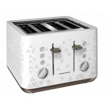 Toster Prism biały na 4 tosty