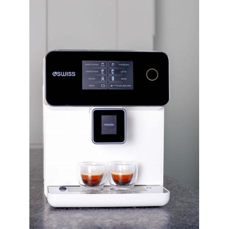 EKSPRES do kawy 4SWISS A10 PRO mini- biały